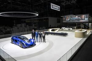 ジンガー 21C、中止になったジュネーブ・モーターショーのブースで公開