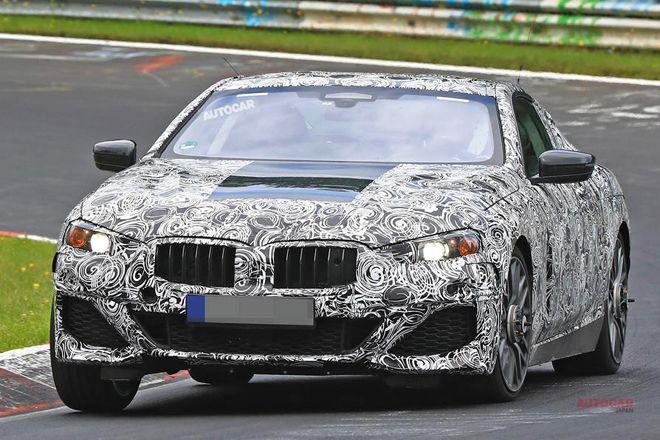 新BMW8シリーズ 鮮明画像 打倒Sクラス・クーペ 2018年登場