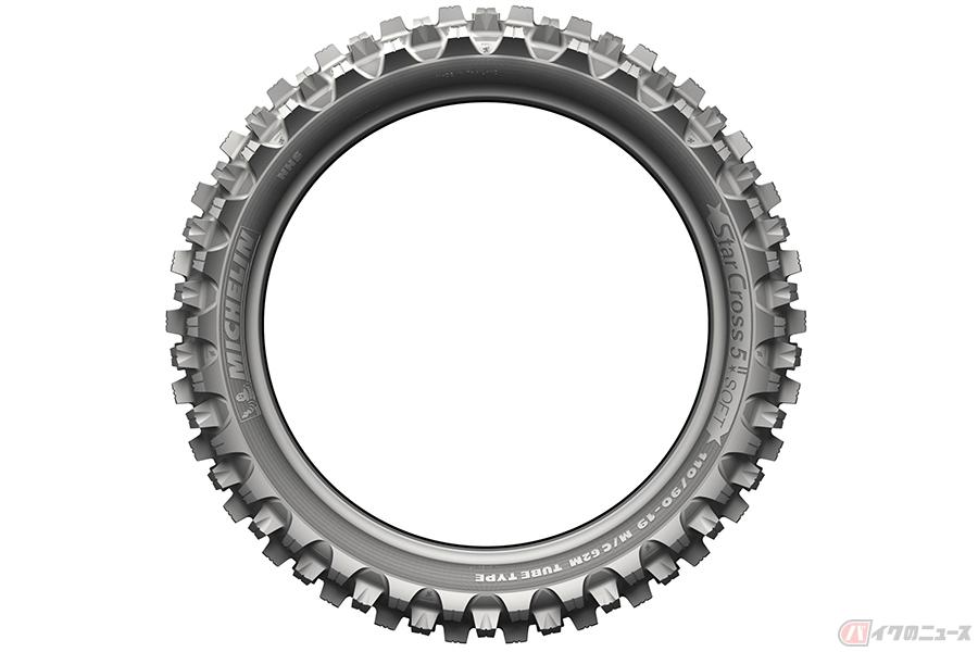 ミシュランのモトクロスバイク用タイヤ「MICHELIN StarCross 5」シリーズに新サイズが追加