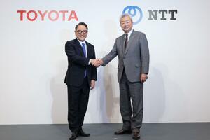 「トヨタ自動車」と「NTT」が業務資本提携に合意。スマートシティビジネスの事業化に向けて長期的かつ継続的な協力関係を構築