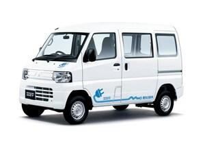 三菱自動車、軽商用電気自動車「ミニキャブ・ミーブ」シリーズを改良、急速充電機能を標準装備