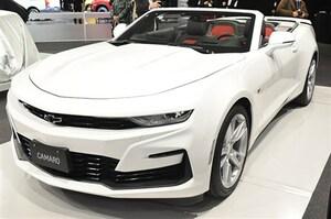 シボレー カマロ2020年モデルはフロントの表情がわずかに変化 - 東京オートサロン