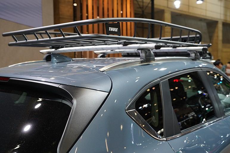 マツダ CX-5を武骨なアウトドア仕様に仕立てた特別架装モデル「TOUGH-SPORT STYLE」 - 東京オートサロン