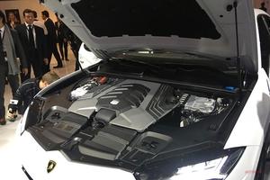 【実車画像】これが、ランボルギーニ・ウルス用V8ターボ