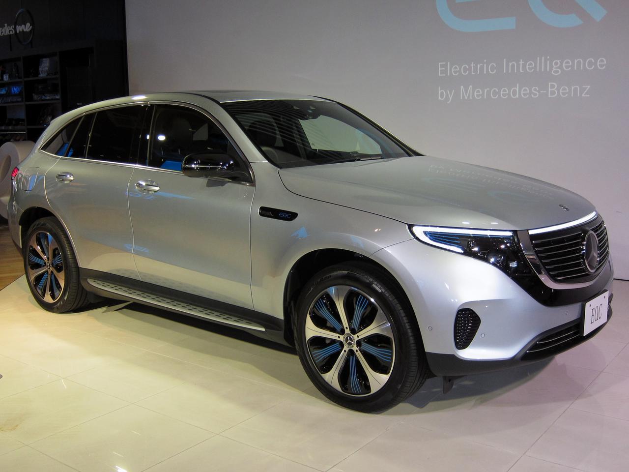 【2019 新車プレイバック(6)】メルセデス・ベンツ EQCはEVらしい先進デザインも見どころ