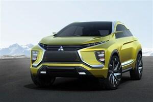 情報解禁! 三菱、コンパクトSUV「MITSUBISHI eX Concept」を世界初披露
