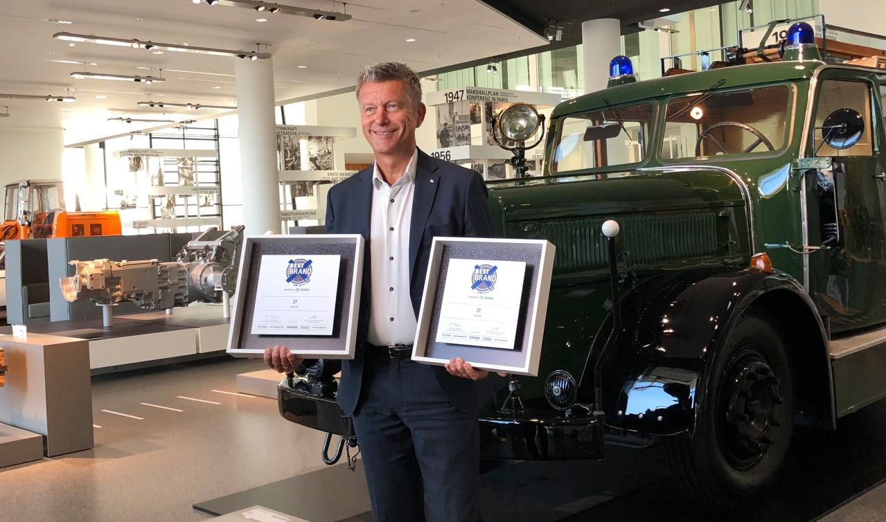 ZF:トランスミッションとリターダが「ETMアワード2020」で賞を獲得