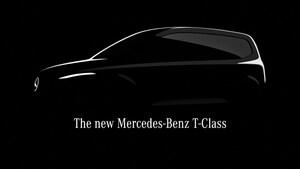 メルセデスの新型ファミリーバン「Tクラス」はカングーの兄弟車として開発か?