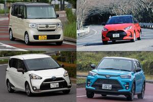 爆売れするにはワケがある! ミニバン・軽・SUVなど各ジャンル「1位」のクルマ5台の「唯一無二」っぷり