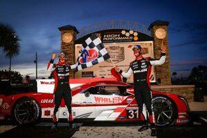 新型コロナから復帰のナッセ組31号車キャデラックが総合優勝/IMSA第3戦セブリング