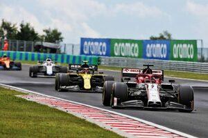 ライコネン「グリッドの路面が滑りやすくて停止位置を過ぎてしまった」:アルファロメオ F1第3戦ハンガリーGP決勝