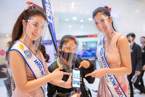 タイ美人が対策万全でお出迎え!? コロナ禍初の国際モーターショー開催!? 大規模イベントの現状とは