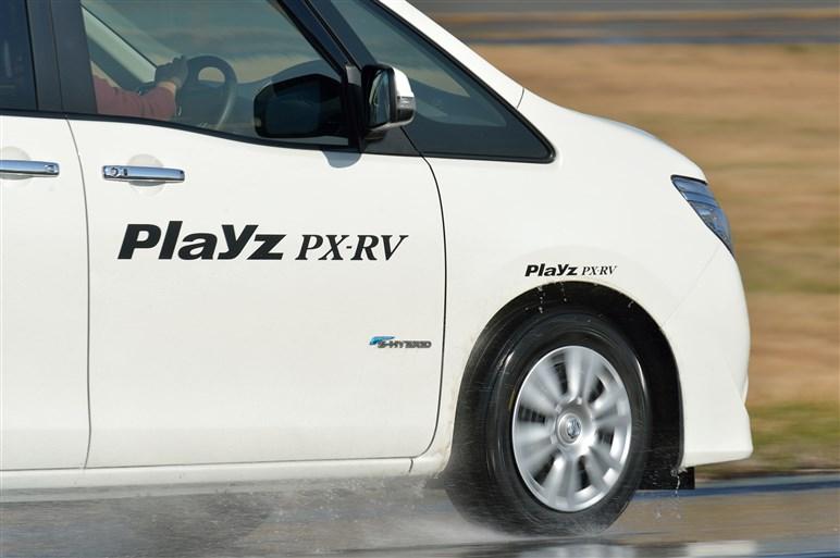 ブリヂストン新型プレイズに試乗。マイルドな操縦性と静かさで疲れにくい印象