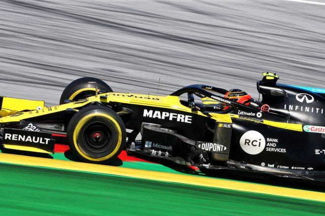 オコン8位「満足だが予選を改善し、さらに上位を狙いたい」:ルノー F1オーストリアGP日曜
