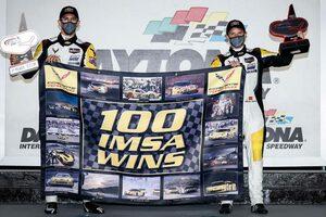 """IMSA:""""ミッドシップ・コルベット""""で大記録達成。100勝目を可能にした完璧な燃費戦略"""