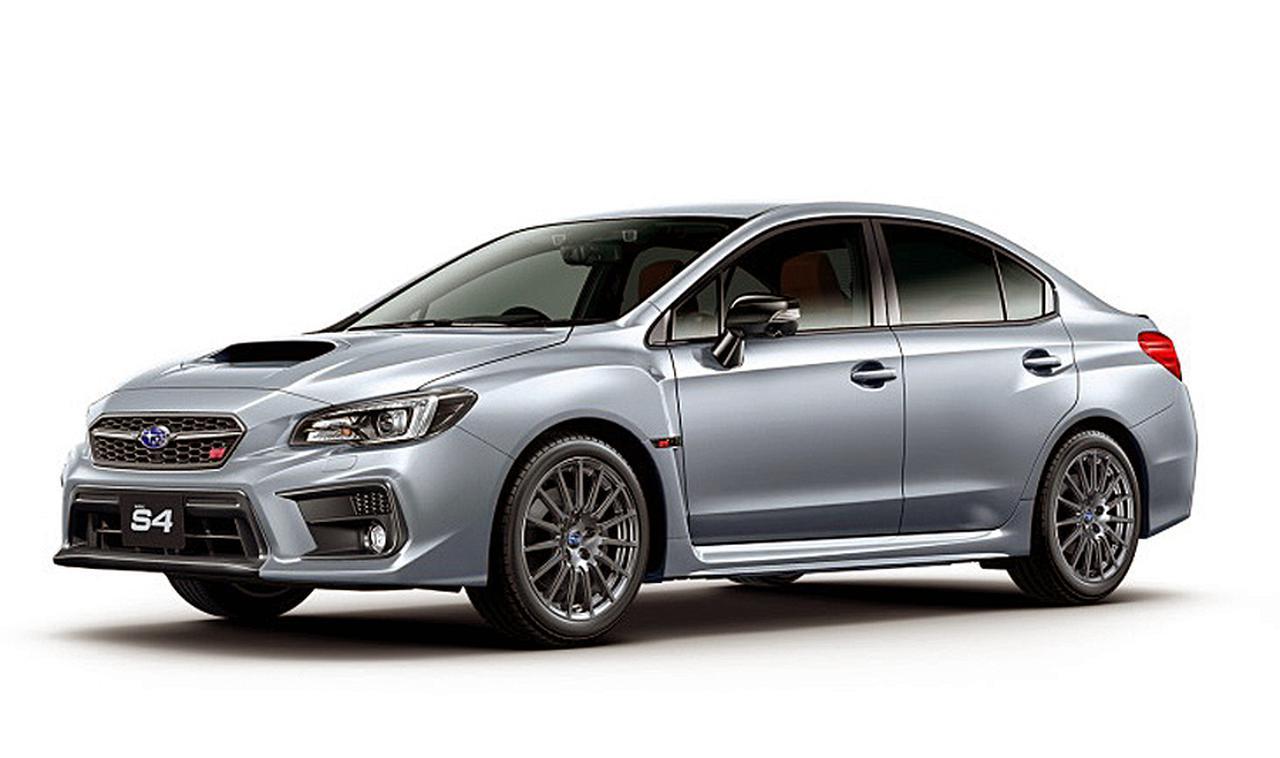 スバル WRX S4を一部変更。特別仕様車の「STI スポーツ#」を限定500台で設定