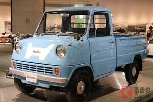 ホンダ初の四輪車はすごいエンジンを搭載した軽トラック!? ユニークすぎるホンダの商用車5選