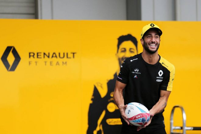 F1 Topic:リカルド、日本でのラグビー熱を称賛。「大会は大成功だったと言えるんじゃないかな」