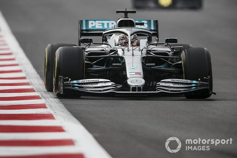 F1メキシコFP1:ハミルトン首位も、フェラーリ優位か? レッドブル・ホンダのフェルスタッペン3番手に続く