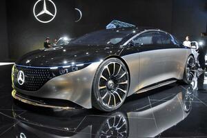 EQシリーズだけじゃない! メルセデス・ベンツブースは環境重視の新モデルが続々【東京モーターショー2019】