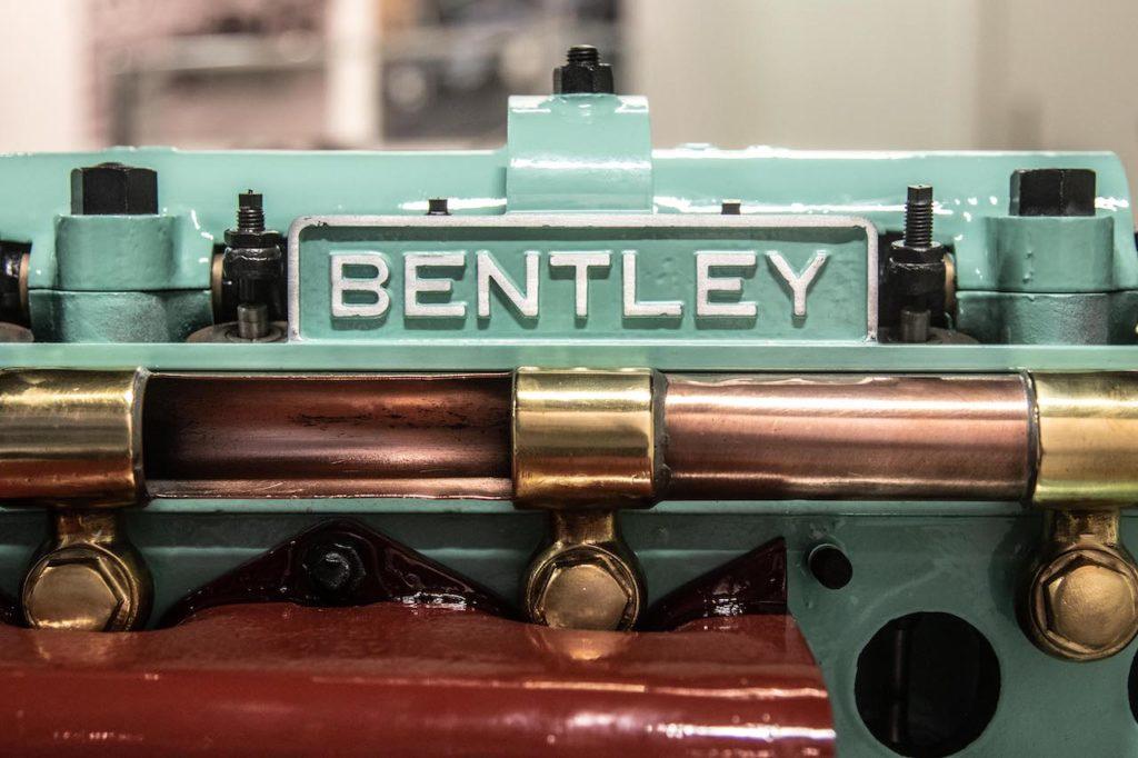 ベントレーの実習生、1923年製3.0リッターエンジン「No.212」をレストア