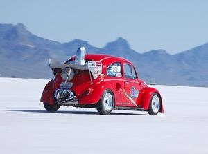 「400キロ突破マシンが登場!」奥深き最高速チューンド【2009ボンネビルで見つけた超弩級マシンPart.4】