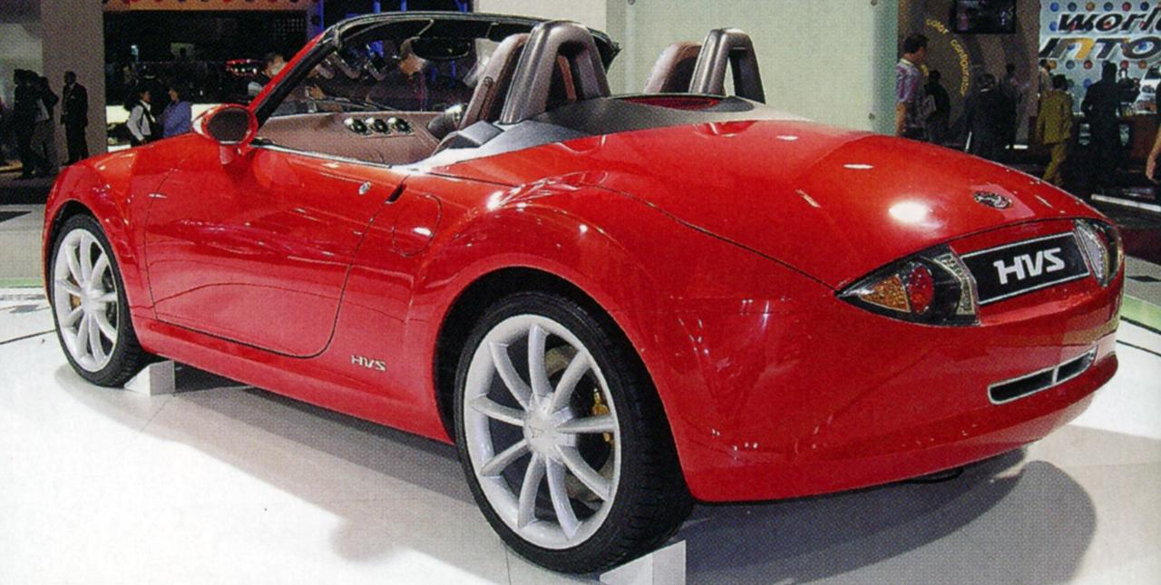 【懐かしの東京モーターショー 20】2005年、ダイハツは「HVS」で21世紀のハイブリッドスポーツを提案した