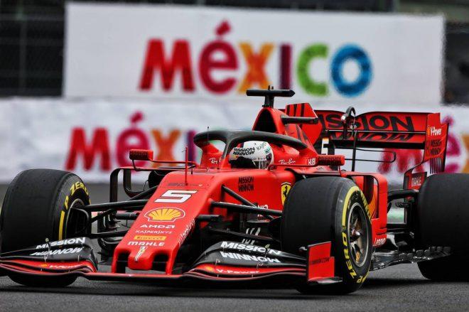 F1メキシコGP FP2:初日最速はベッテル。ホンダPU勢はアルボンがクラッシュも3台がトップ10内に入る好調な出だし