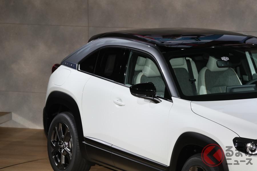 マツダ初の量産EVはSUV? 新型「MX-30」の車名に隠されたマツダの想いとは