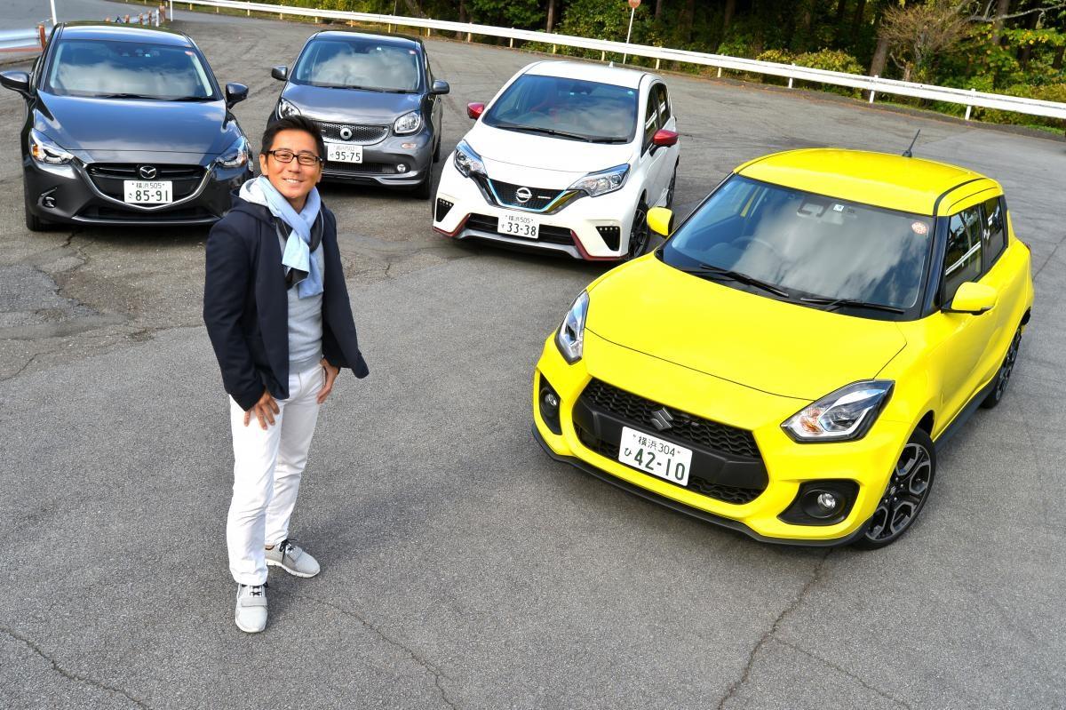 【ムービー】スイスポはAT車でもメチャメチャ楽しい! コンパクトスポーツカーを乗り比べ