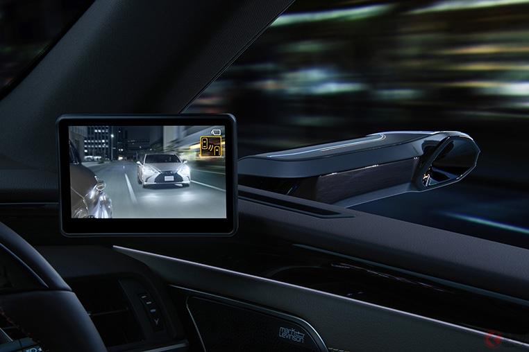 レクサスが10月発売の新型ESに量産車世界初ミラーレス採用