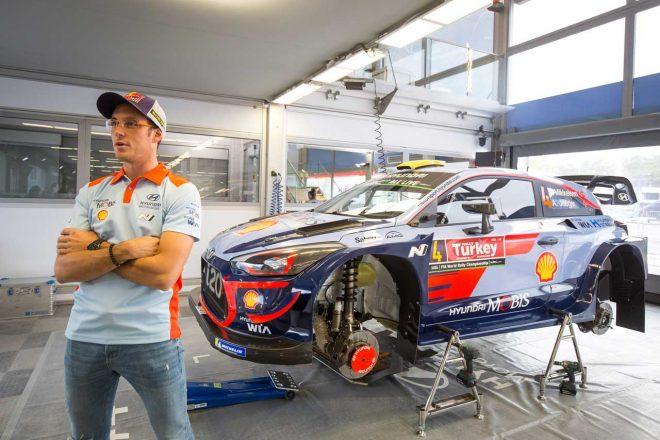 WRC:初戴冠を目指すヌービル、ヒュンダイと新たに3年契約を締結