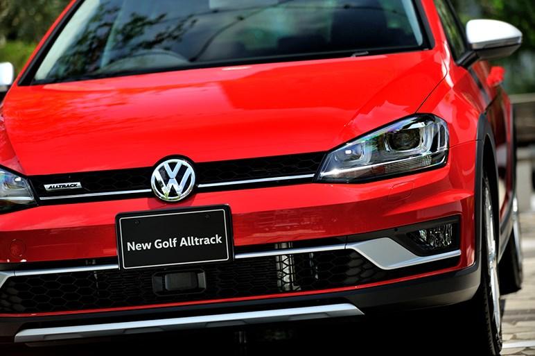 ゴルフ初のクロスオーバーワゴン、ゴルフ オールトラック発売