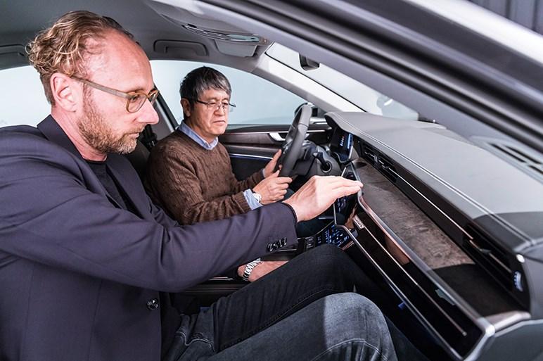新型アウディA6は新世代デザインと先進装備で高級路線のリードを狙う