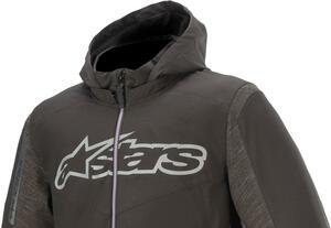 動きやすいソフトシェル素材! アルパインスターズからパーカタイプの新たなジャケットが登場