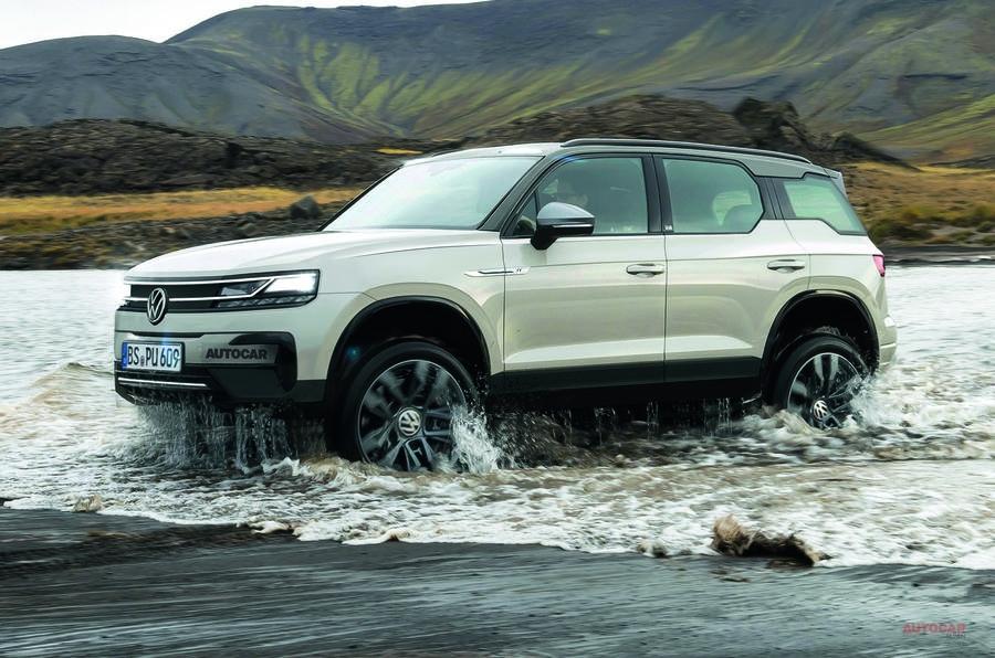 【ゴツくて頑丈 電動SUV】VW 新しい「ID.Ruggdzz」 4輪駆動/MEBプラットフォーム 2023年発売か