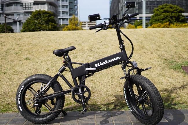 乗ってみたい!ペダルを漕がずに公道も走れる完全電動自転車「Kintone X」