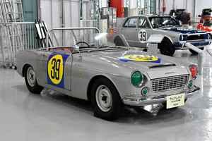 【自動車博物館へ行こう】ニッサンのサーキットでのレース活動はフェアレディ1500から始まった