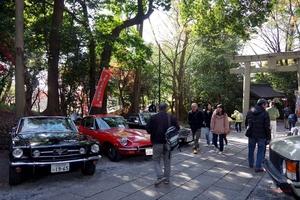 谷保天満宮旧車祭2017 200台の旧車 交通安全祈願発祥の地に