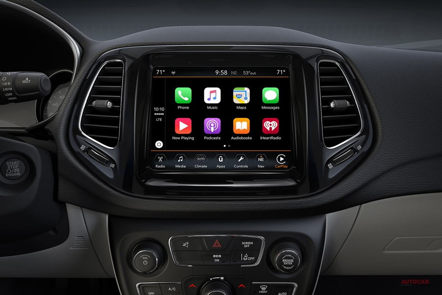 ジープ・コンパス限定車、ナイトイーグル 黒のテーマカラー/安全装備の充実