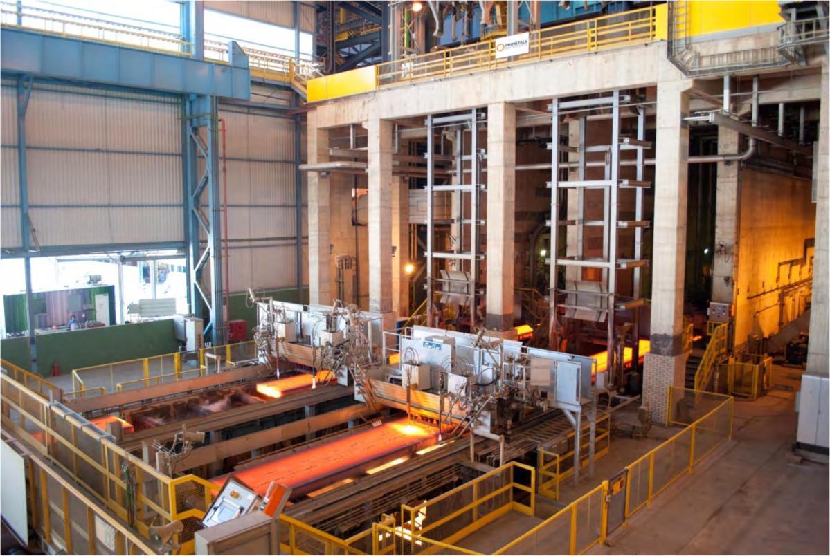 プライメタルズテクノロジーズ:スラブ連続鋳造機の最終凝固工程を新開発のSRDセグメントで改善