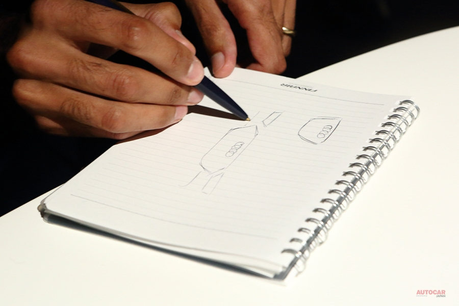 新型アウディA8 31歳のデザイナー語る、デザインの「根拠」 インタビュー