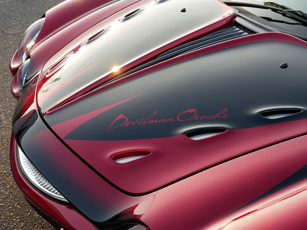 デビルマン×光岡自動車のコラボから生まれた「デビルマン オロチ」限定1台で受注開始