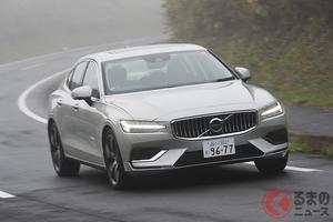 ライバルのドイツ3強モデルにスポーティさで勝る? 新型ボルボ「S60」PHEVに試乗