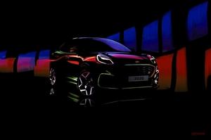 【ホットなクロスオーバー】新しいフォード・プーマST 1.5L 3気筒か 2020年発表