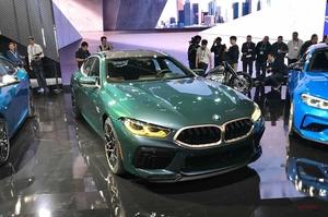 BMW M8グランクーペ、世界初公開 LAショー2019に、コンペティション仕様