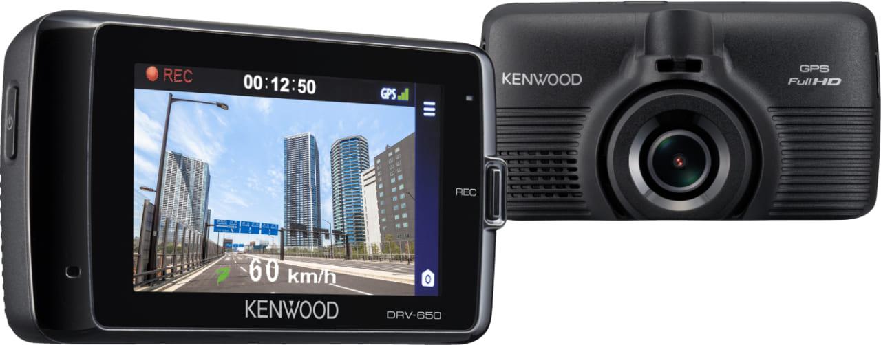 【人気の前後2カメラもあり!】ケンウッドから200万画素超えのドラレコ3機種登場