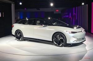 VW ID.スペース・ビジオン クロスオーバー・エステートのコンセプトを披露