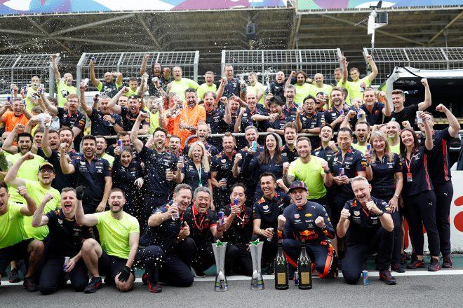 【F1ブラジルGP無線レビュー】最大限の性能を引き出したフェルスタッペンが雪辱を果たす「最高の結果になったよ!」