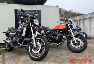 人気絶版車をレンタルバイクで楽しむ! カワサキ ゼファーχとホンダ VF750セイバーでツーリングしてみた